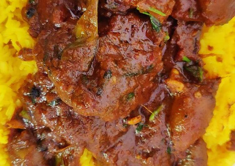 Chicken Gizzard Liver Heart Masala