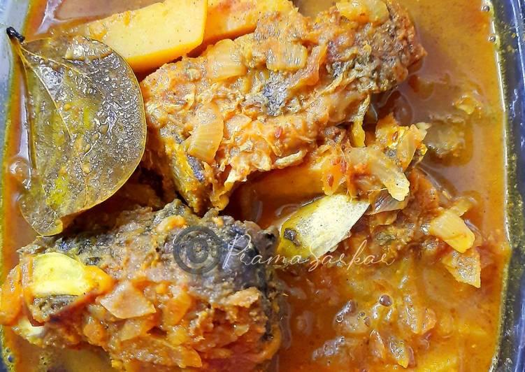 Recipe of Award-winning Bengali Style Fish Curry