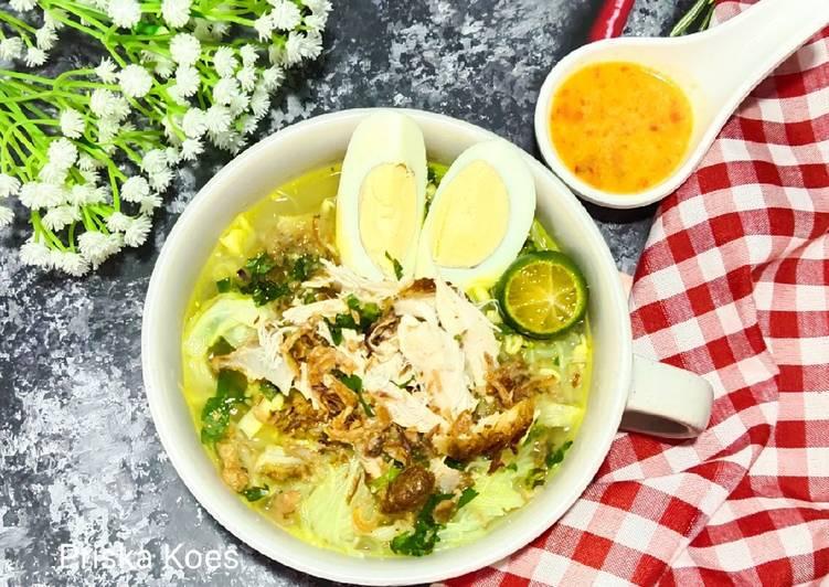 Cara Gampang Menyiapkan Soto Ayam Rempah, Enak Banget