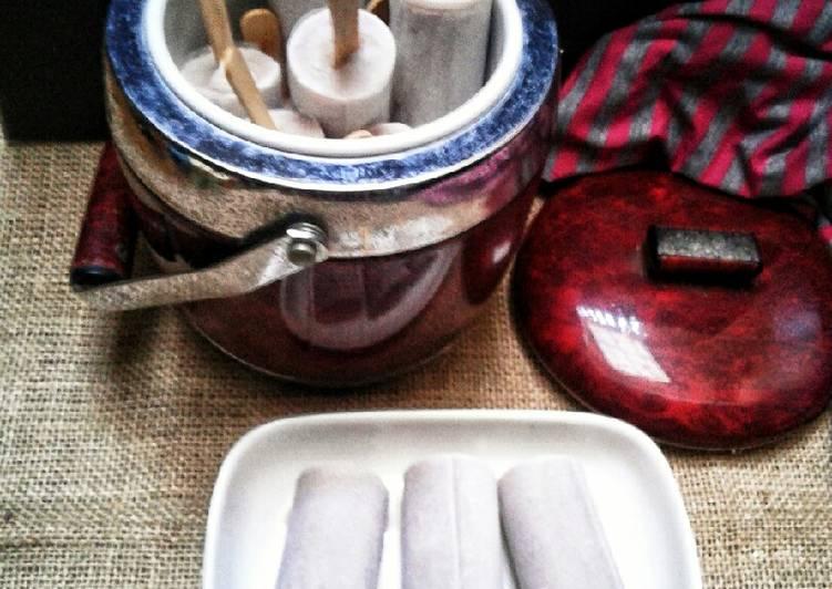 Es potong singapore rasa kacang merah