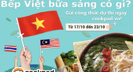 Hình ảnh món Giao lưu cùng bếp Nhật Bản - Bếp Việt bữa sáng có gì?
