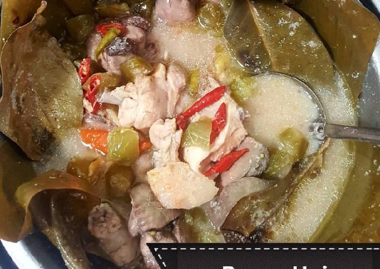 Garang Asem ayam ati ampela tanpa santan (debm/keto friendly)