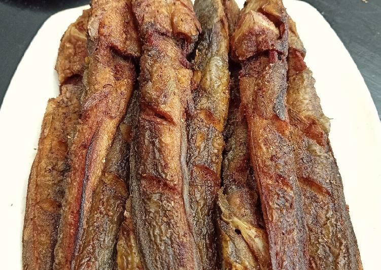 Tips ikan lele goreng (LURUS tdk melengkung)