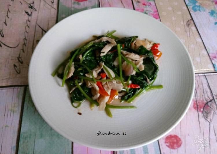 Ayam Kangkung Saus Tiram