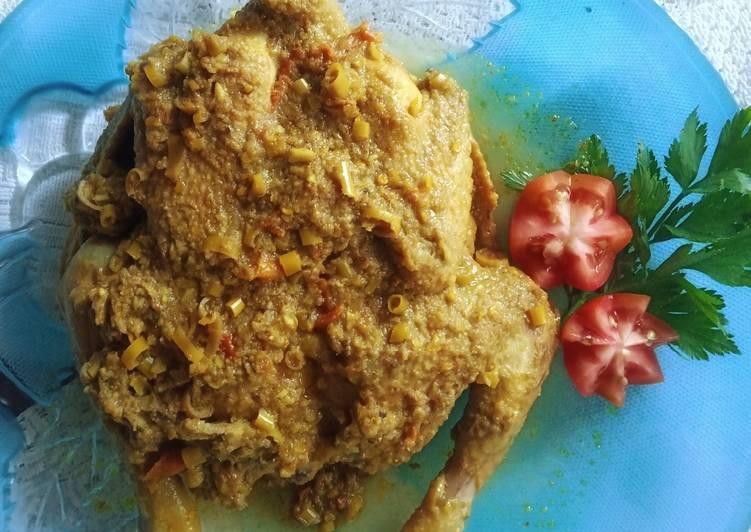 Recipe: Perfect Ayam betutu - Resep Masakan Mama