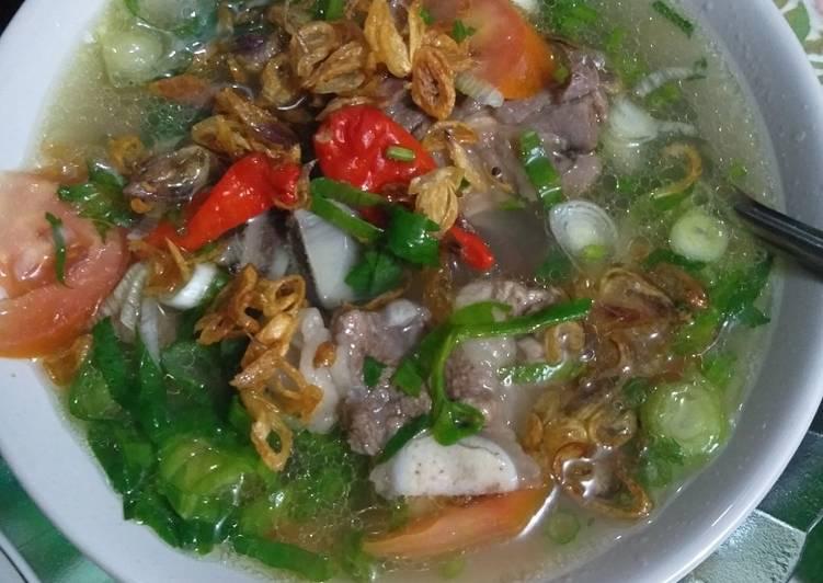 Resep Sop Iga Sapi Sop Janda Oleh Rozika Prihatiningsih Cookpad