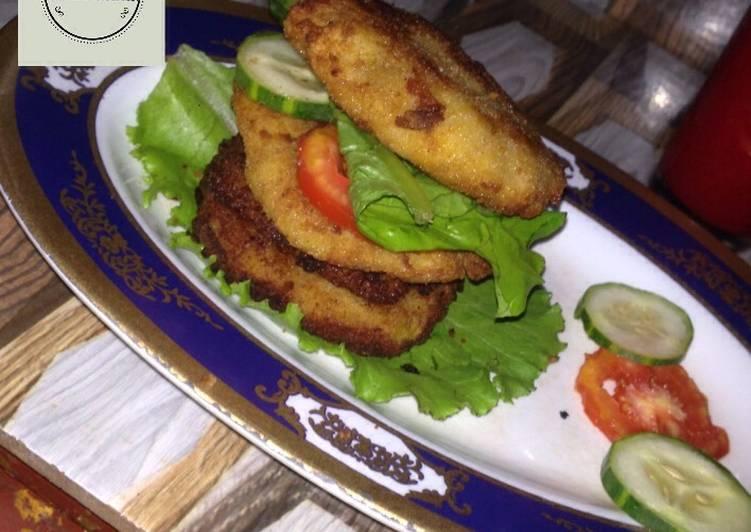 Plantain sandwich recipe by Khabs kitchen