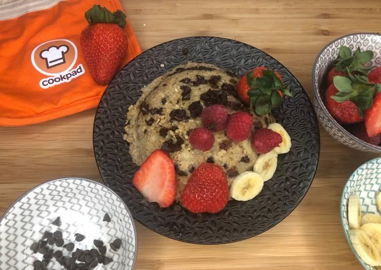 Bowl cake banane / chocolat