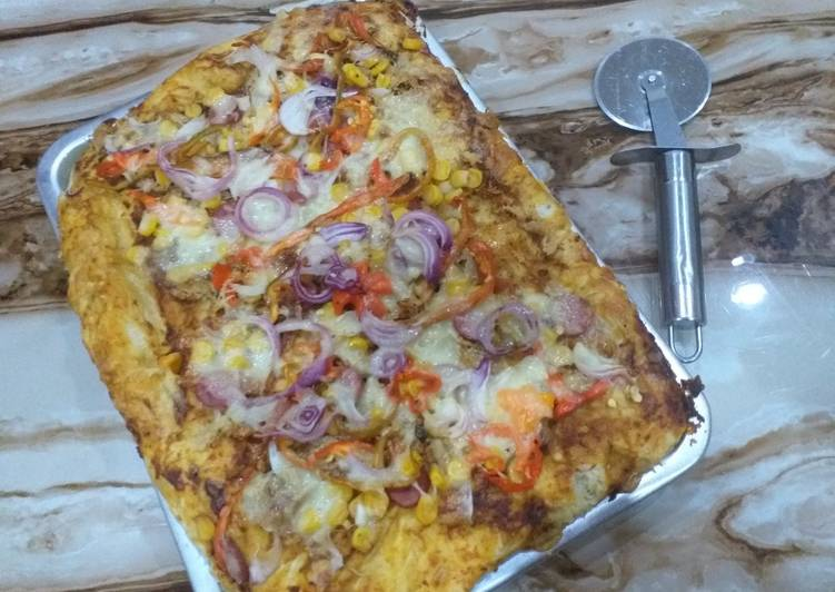 The Best Dinner Easy Refreshing Square Pizza