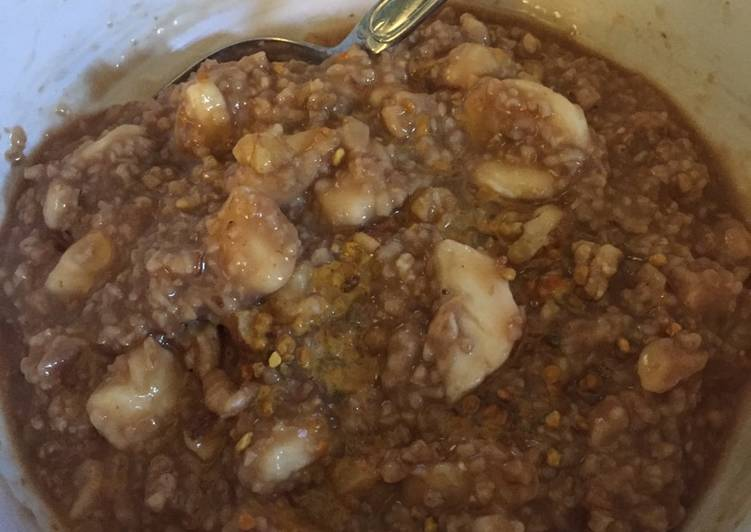 Recipe: Appetizing Energy sustaining oatmeal