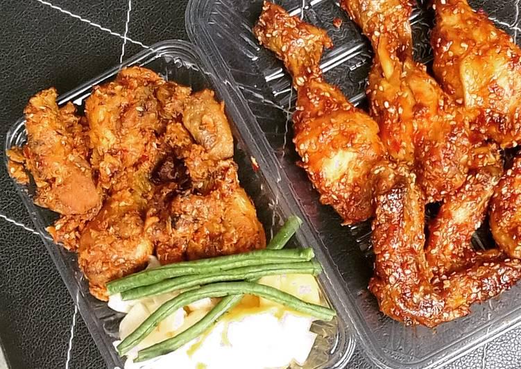 Ayam pedas ala korean