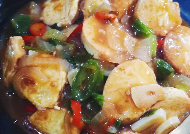 Resep Tofu Saus Tiram Oleh Nuraini Cookpad