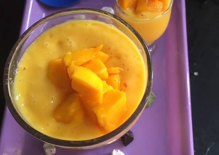 Recipe of Speedy Mango lassi