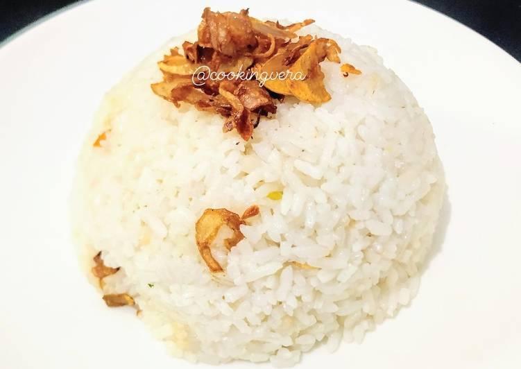 Nasi Uduk simple rice cooker