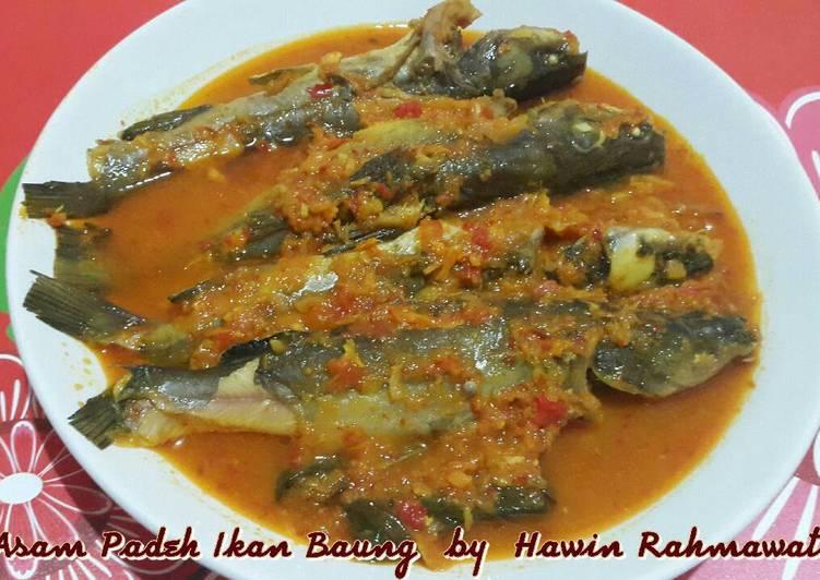 Resep Asam Padeh Ikan Baung Oleh Hawin Rahmawati Cookpad