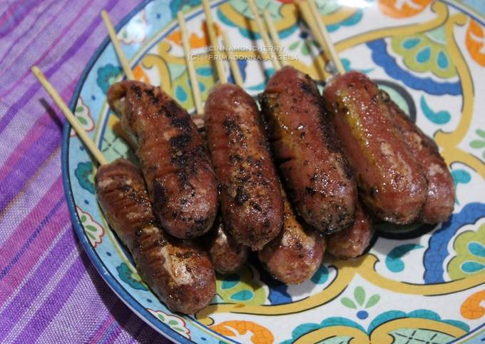 Sausages with Homemade Mild Rub and Mayonnaise