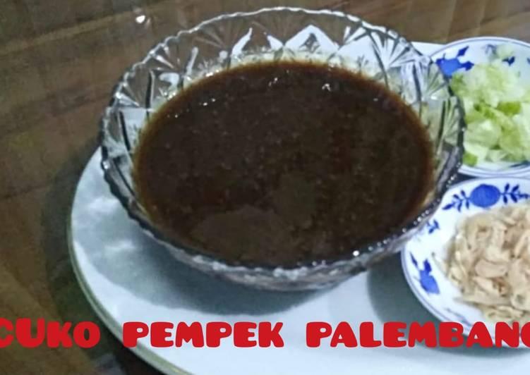 Resep cuko/cuka pempek palembang asli