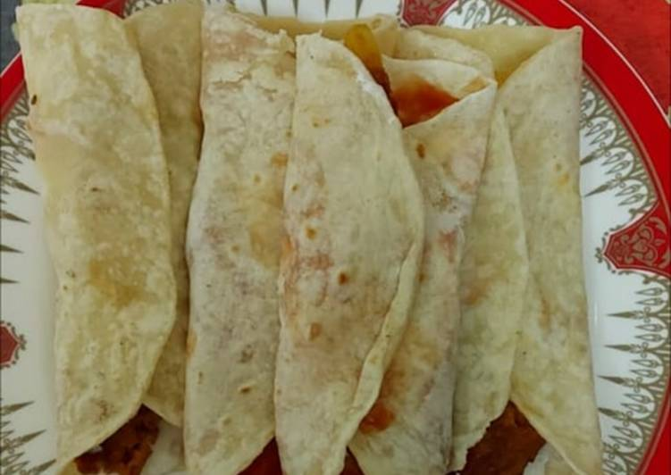 Easiest Way to Prepare Yummy Kabab rolls