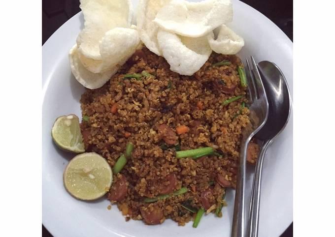 Javanese Quinoa Goreng (Nasi/Quinoa goreng jawa)