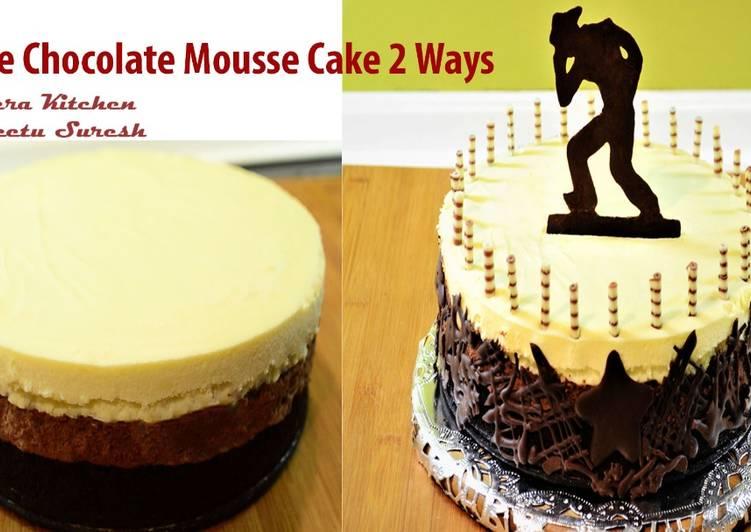 Tripe Chocolate Mousse Cake