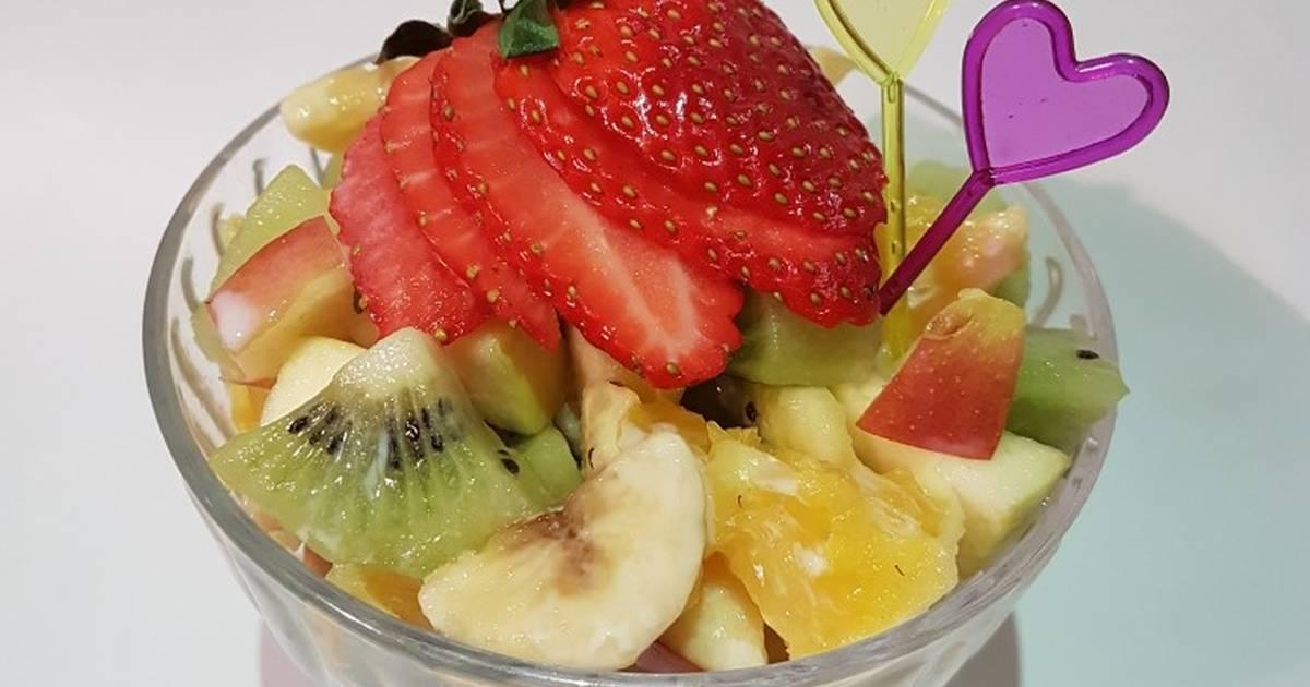 сюрко фруктовый салат пошаговый рецепт с фото затвердевание гипса происходит