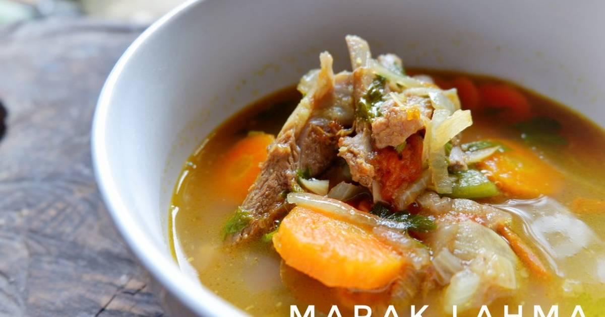 resep marak lahma resep masakan daging khas timur tengah  buka puasa fimela  today Resepi Ayam Bakar Basah Enak dan Mudah