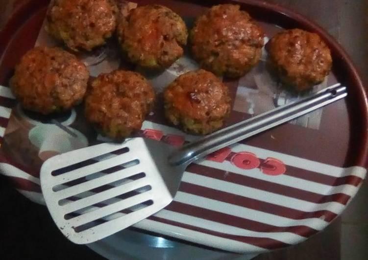 Recipe: Delicious GREEN BANANA +GREEN GRAMS KEBAB