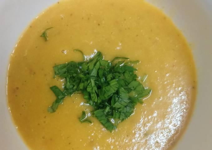 #soupe Soupe de courgettes et de courge