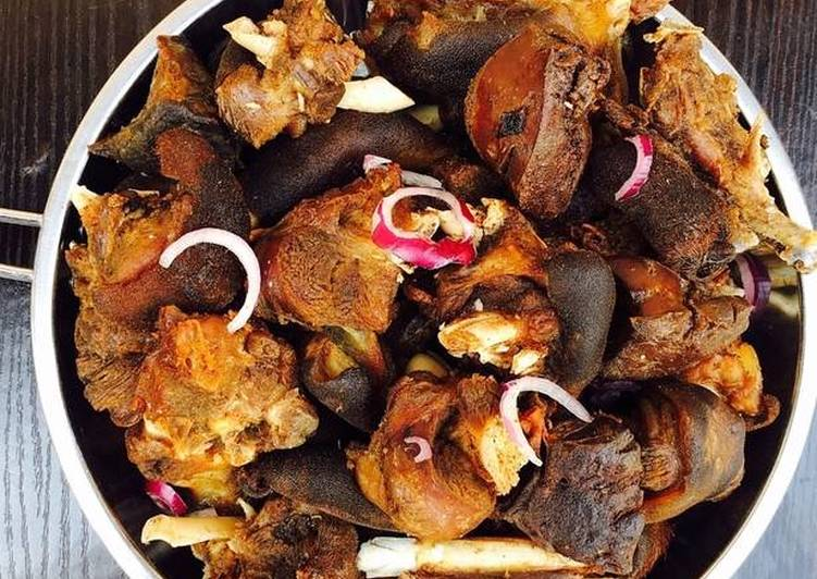 The Food Items You Choose To Feed On Will Effect Your Health Fried Goat Meat