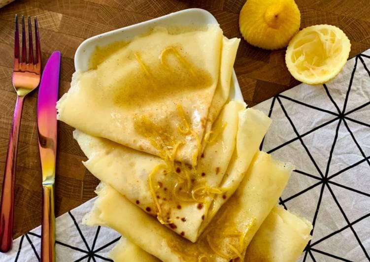 ☆Crêpes Suzette au Citron☆