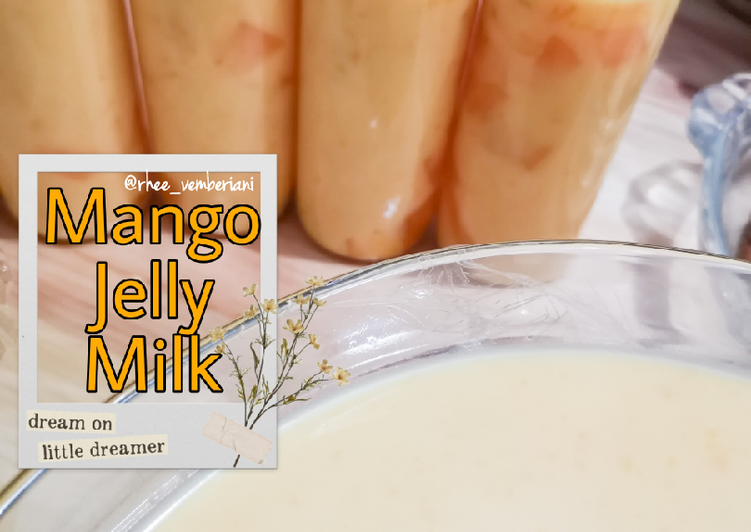 Mango Jelly Milk / Es Mangga Jelly