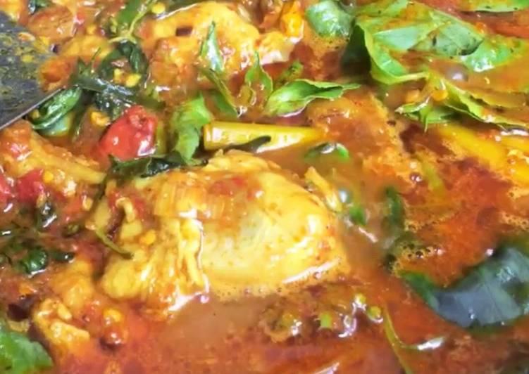 Resep Ayam Rica Kemangi - Ayam Rica Manado Pedas yang Sedap