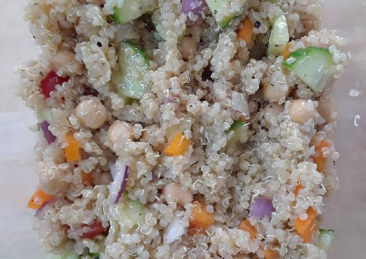 Going Green for Better Health By Eating Superfoods Greek Style Quinoa Salad