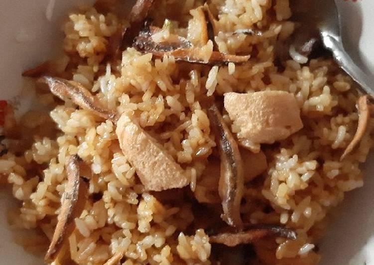 Nasi Goreng Teri Tahu