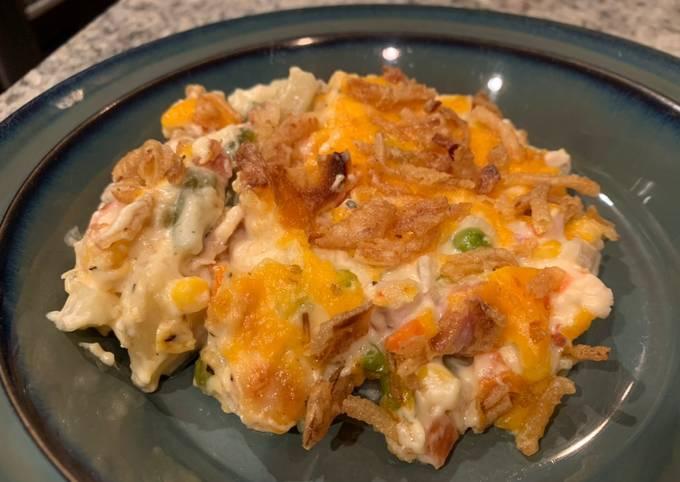 Potato and Chicken Casserole