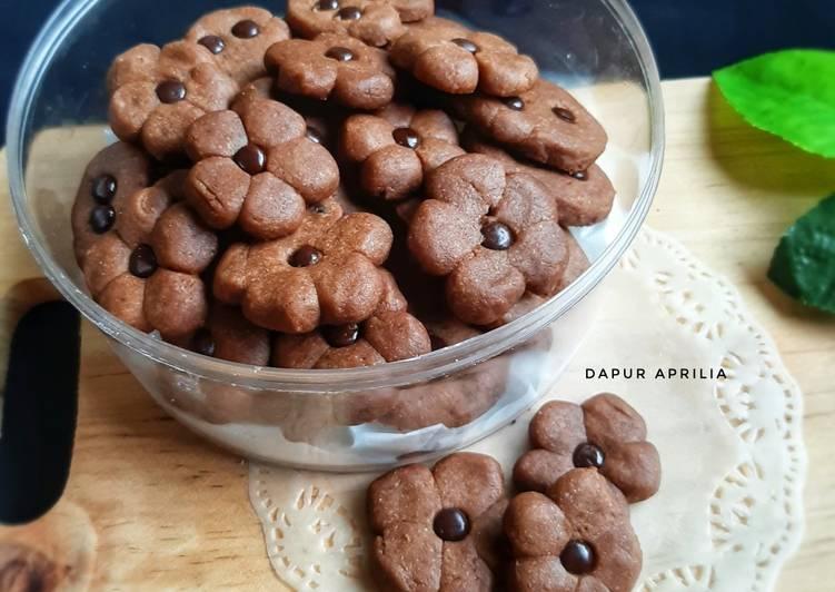 Resep Cookies Coklat | No Mixer No Oven yang Bisa Manjain Lidah