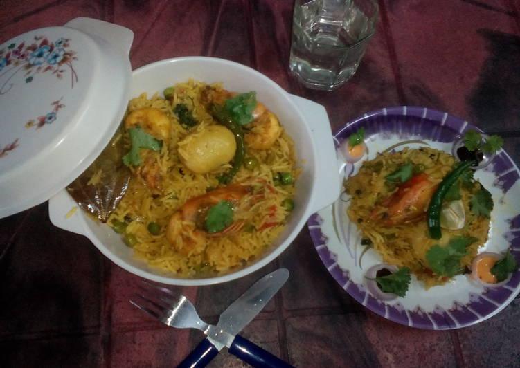 How to Prepare Any-night-of-the-week Goan prawn pulao