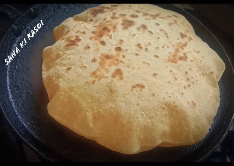 Soft Chapati with new method