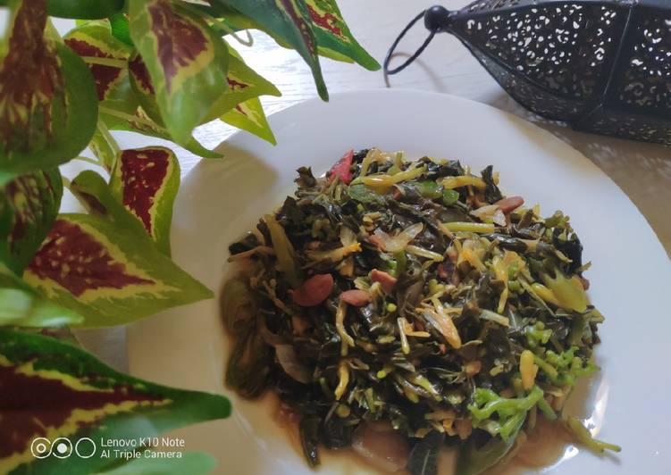 Cara Gampang Membuat Daun Ubi Taoco Bunga Pepaya yang Sempurna