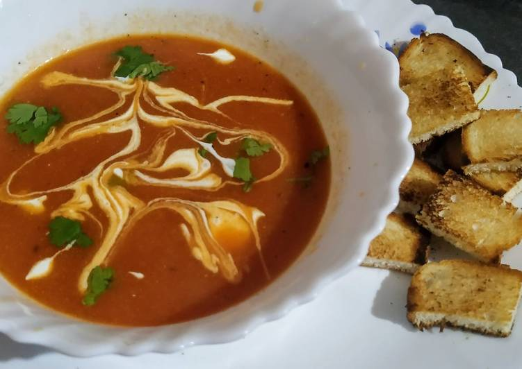 Recipe of Top-Rated Creamy Tomato soup
