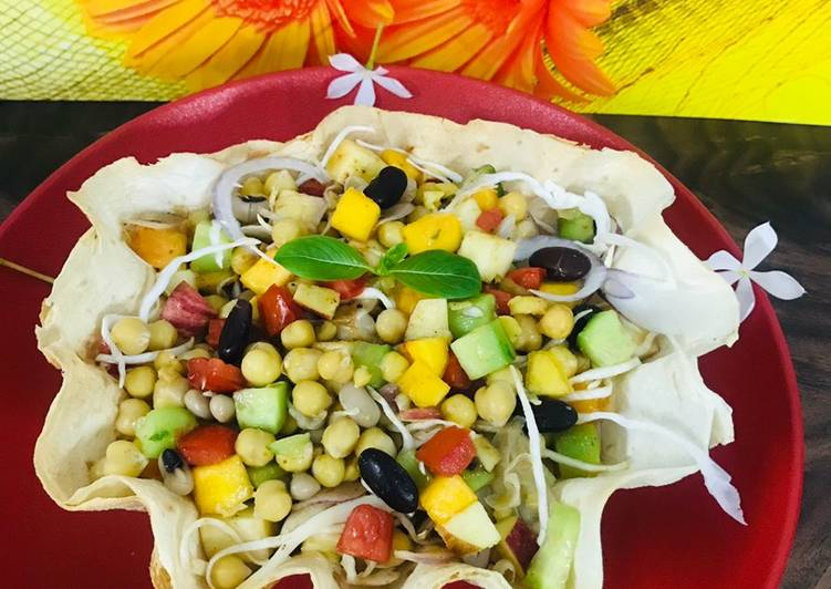 Simple Way to Make Most Popular Leftovers diet beans salad in tacos 🌮