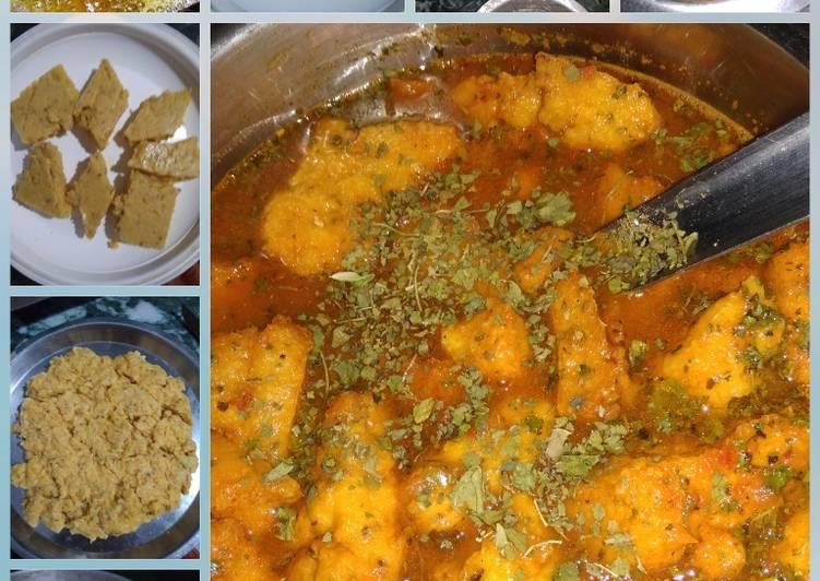 Shahi besan curry