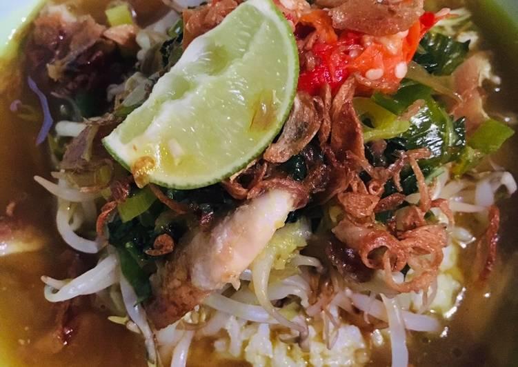 Resep Soto ayam bening resep ibu yang Menggugah Selera