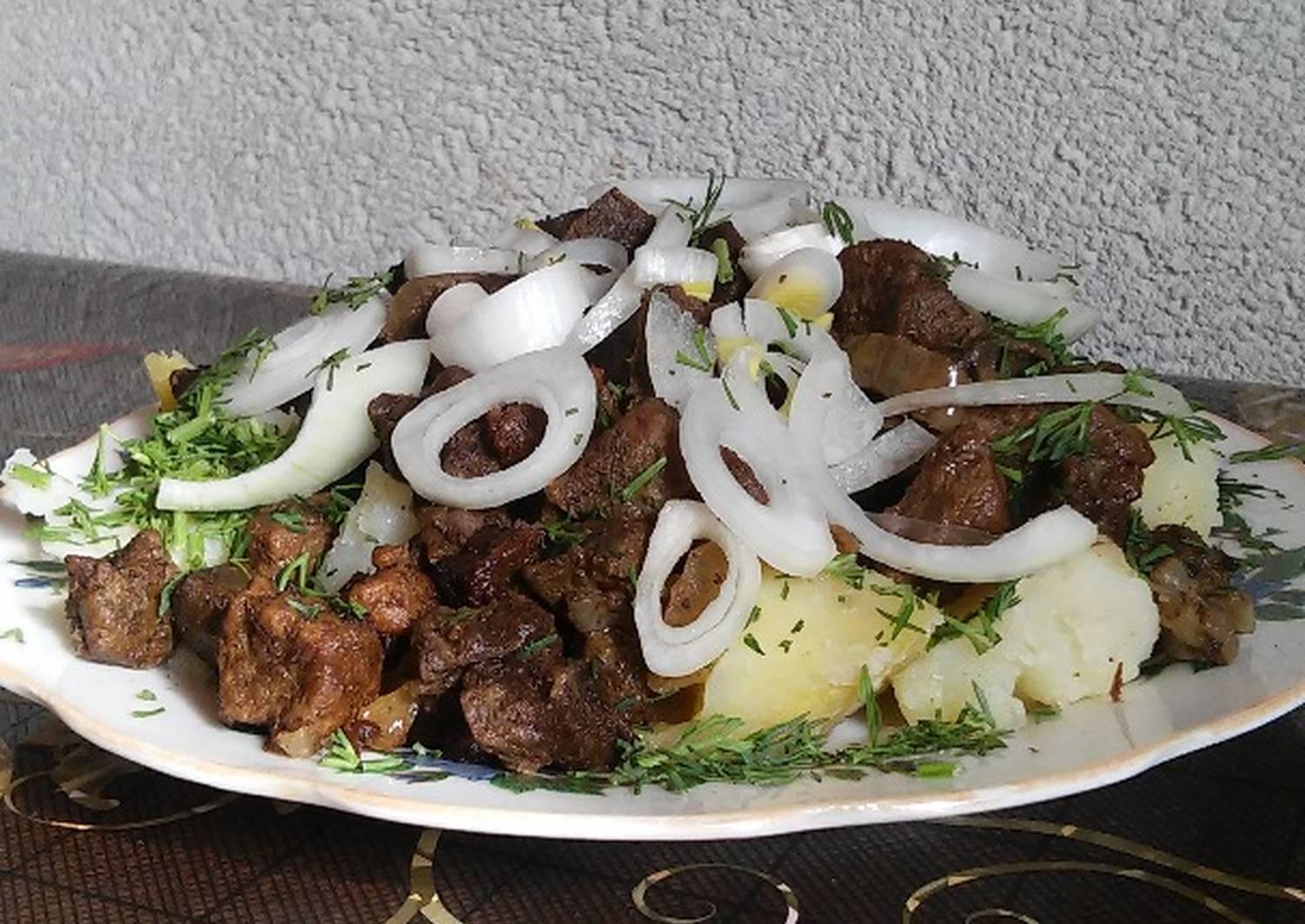 Каурдак из говядины рецепт с фото между