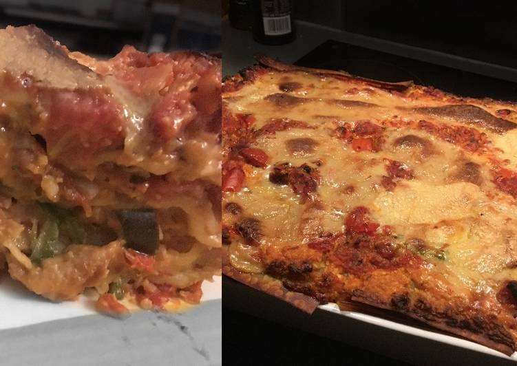 Recipe: Yummy Vegan Lasagne
