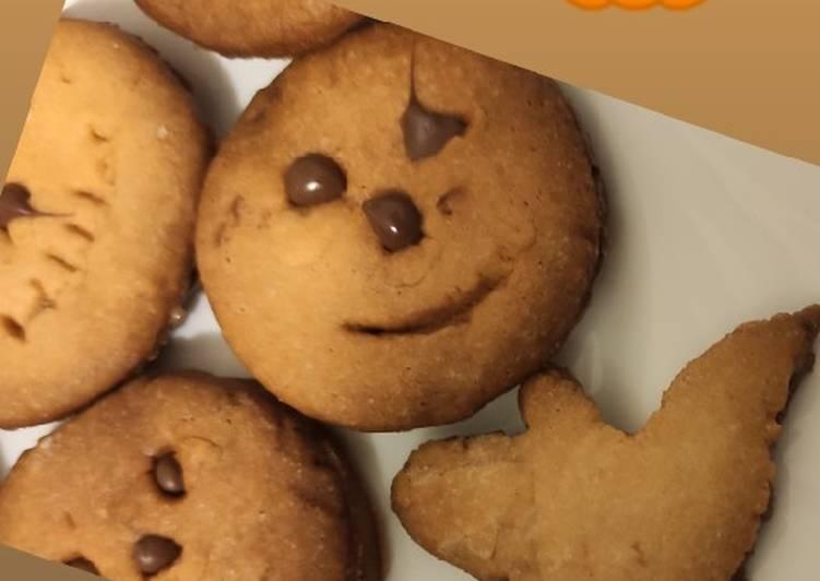 Biscotti di halloween senza formine