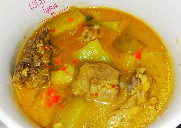 Resep Gulai Ayam Pedas, Enak