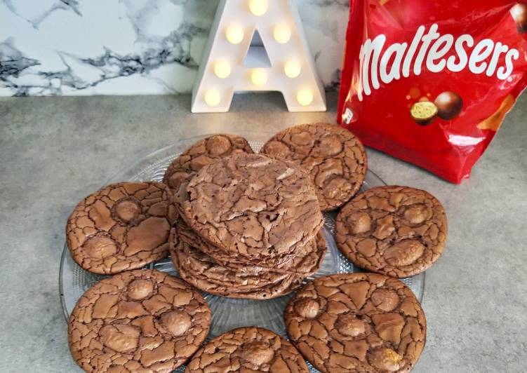 Cookies brownie aux maltesers
