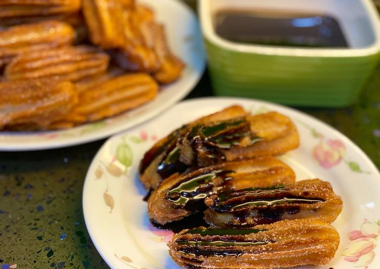 Cara Mudah Masak: Churros Simple