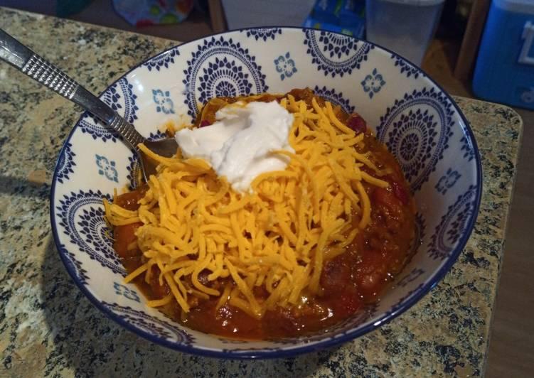 Recipe: Tasty Pumpkin Chili
